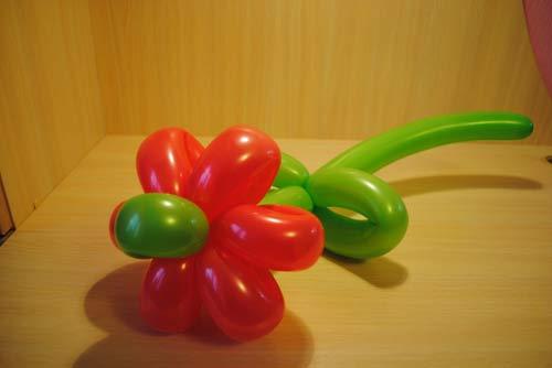 цветы из шариков своими руками пошаговая инструкция для начинающих - фото 9