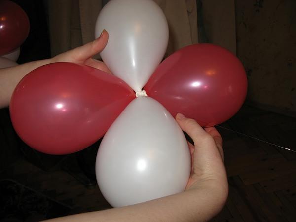 Как сделать фонтан из шаров своими руками пошаговая инструкция 7